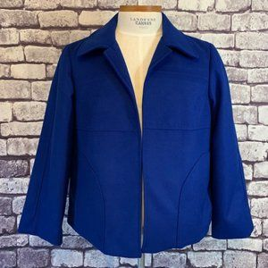 Chico's Size XL Blue No Close Jacket